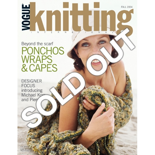 Vogue Knitting 2004 Fall