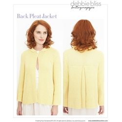 BACK PLEAT JACKET