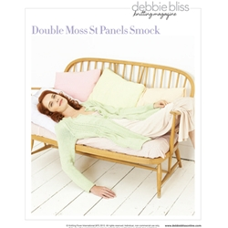 DOUBLE MOSS STITCH PANELS SMOCK