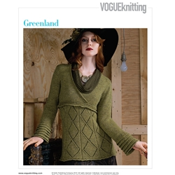 GREENLAND Vogue Knitting Fall 2008 #9