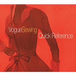 Vogue Sewing Quick Reference