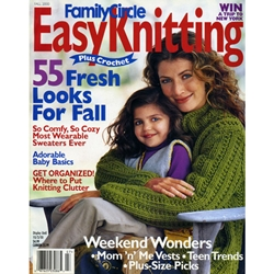 Family Circle Easy Knitting Fall 2000