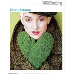 GREEN AUTUMN Vogue Knitting Fall 2008 #3