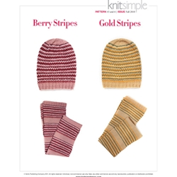 BERRY SCARF & HAT/GOLD SCARF & HAT