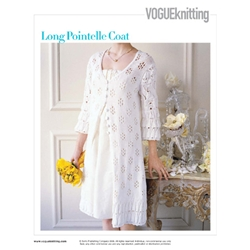 LONG POINTELLE COAT