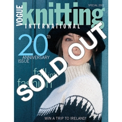 Vogue Knitting 2002 Fall: 20th Anniversary Issue