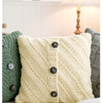DIAGONAL RIB PILLOW