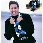 ARGYLE SCARF & SOCKS SET