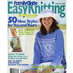 Family Circle Easy Knitting Spring/Summer 2000