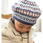 CHILD'S FAIR ISLE BERET