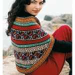 TURKISH CAPE Vogue Knitting Fall 2005 #16