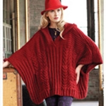 CABLE SWING PONCHO