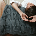 BASKET WEAVE THROW