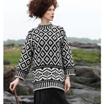 OVERSIZED NORDIC PULLOVER