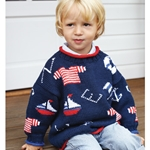 FLAG AND LIFEBELT SWEATER