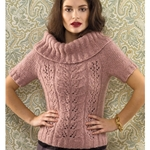 COWL-NECK PULLOVER