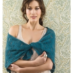 TRIANGULAR LACE SHAWL