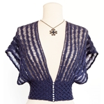 DROP STITCH SHRUG