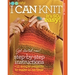 Go Crafty! I Can Knit: It's So Easy