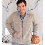 MAN'S ZIP-UP CARDI