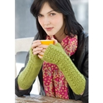 LETTUCE KNIT ARM WARMERS
