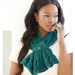 LACE TEXTURE SCARF