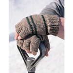 MANLY FINGERLESS GLOVES