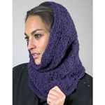 WAVE LACE SNOOD/COWL