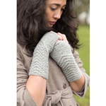 CHEVRON FINGERLESS GLOVES