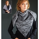 ART DECO MOSAIC SHAWL