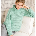 DOUBLE SEED STITCH PULLOVER
