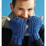 RIBBED MITTS