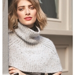 RIBBED TURTLENECK COWL