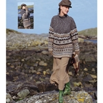 FAIR ISLE AND CABLE YOKE PULLOVER