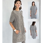 Aran Cabled Dress