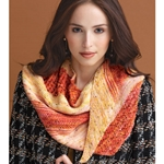 Offset Triangle Shawl