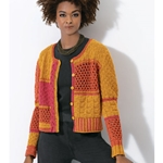 Multipatterned Cardigan