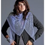 TRIANGLE LACE SHAWL
