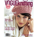Vogue Knitting Magazine Fall 2009